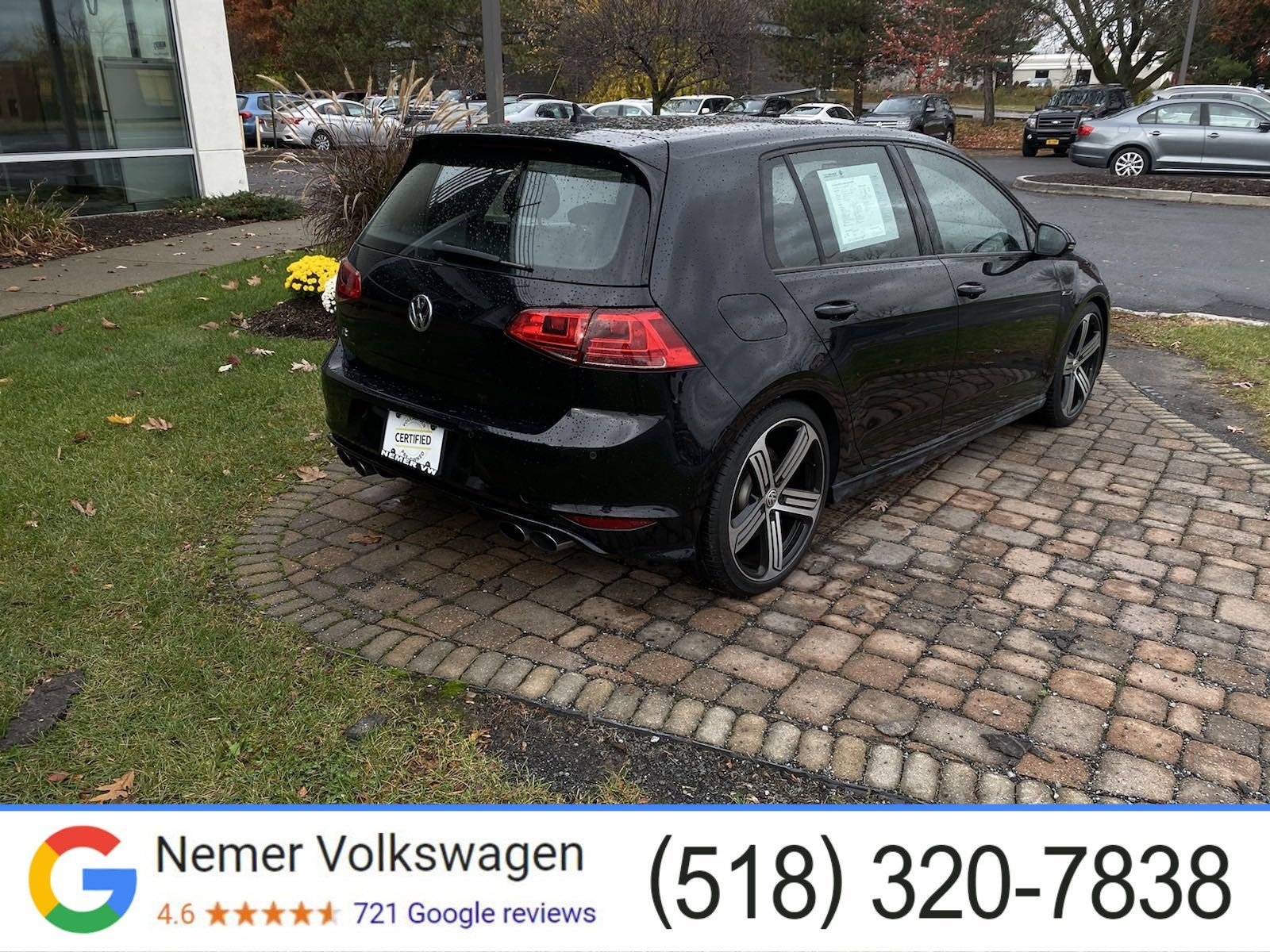 Certified Pre-Owned 2016 Volkswagen Golf R DCC & Navigation 4Motion